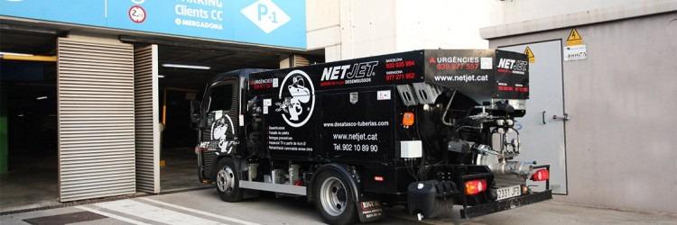 camiones de limpieza para parkings