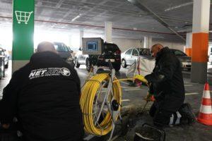 inspección de tuberías con cámara no robotizada